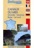 FLUVIACARTE N°11 CANAUX DU MIDI